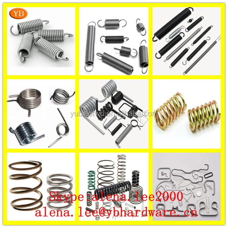 Factory custom carbon steel heavy duty extension coil pull bistable spring for recliner chair