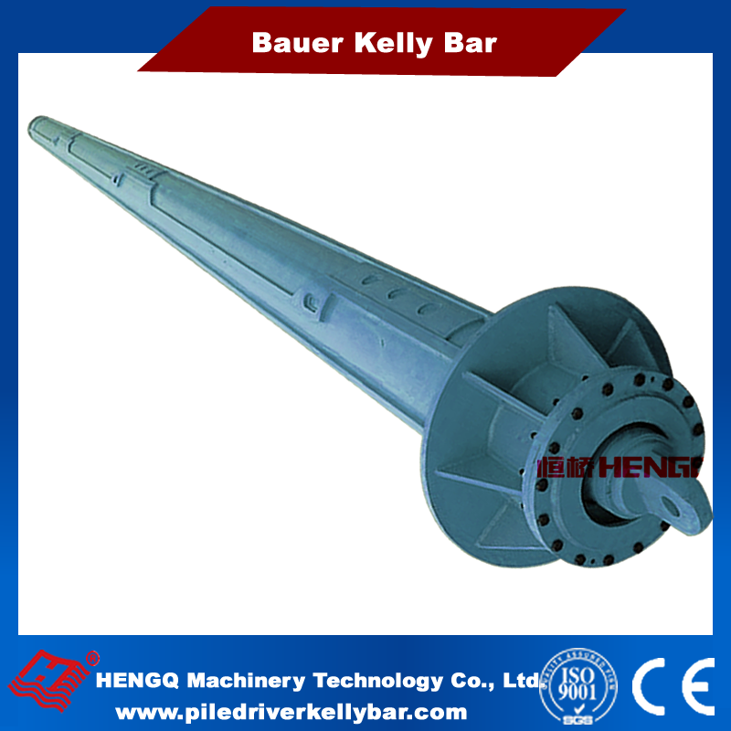 HengQ Supply Drilling Rig Machinery Part bauer bg serial drilling rig kelly bar with max 55 depth