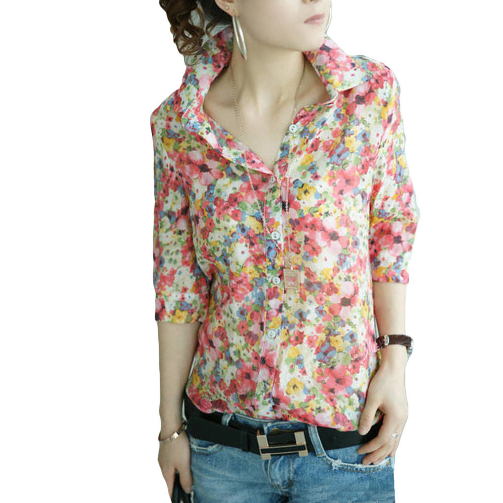 Free shipping BOTH ways on Shirts & Tops, Women, Floral, from our vast selection of styles. Fast delivery, and 24/7/ real-person service with a smile. Click or call