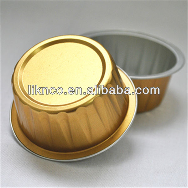 Food wrapping Alu Foil bowl