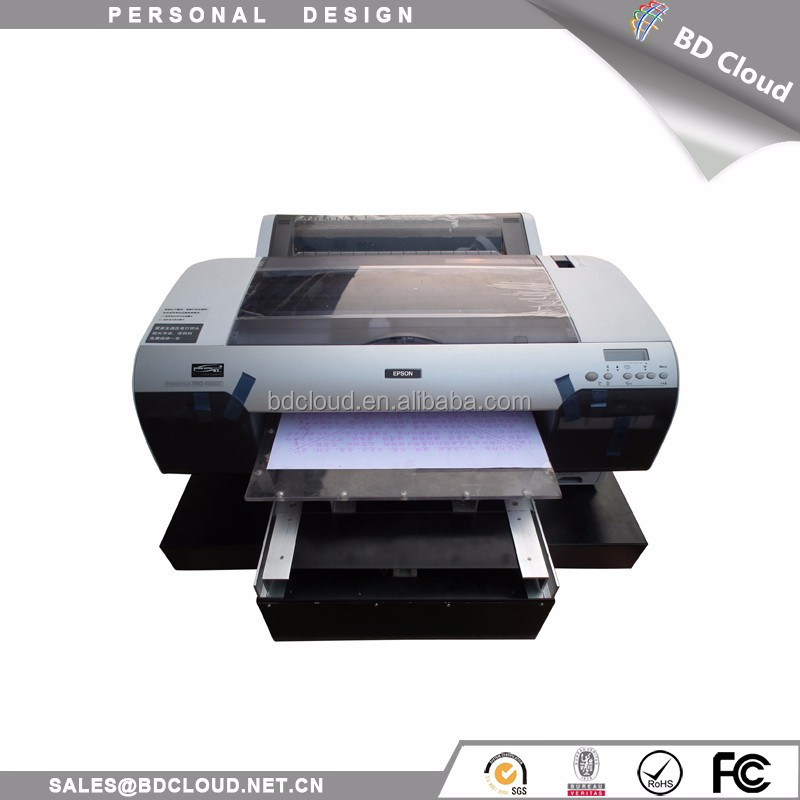 Cheap price A2 size textile ink large format printer for garment