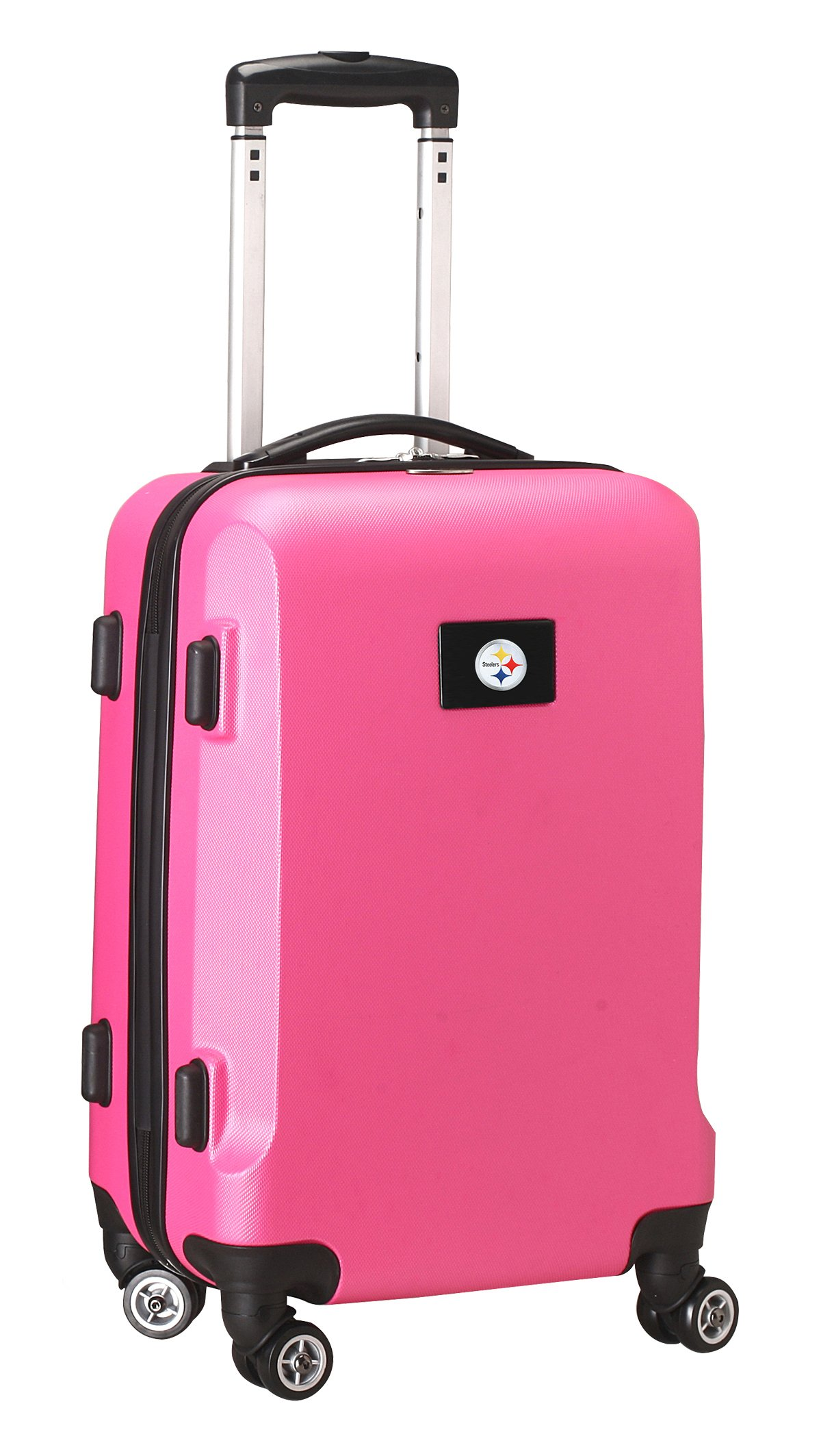 NFL Pittsburgh Steelers Carry-On Hardcase Spinner, Pink