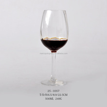 500ml glass goblet glass champagne cup red wine glass