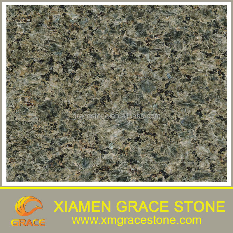Chinese Chende Green Nature Granite Cheap big gangsaw slab 2400up