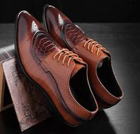 Classic Business Trends man brogue dress shoes