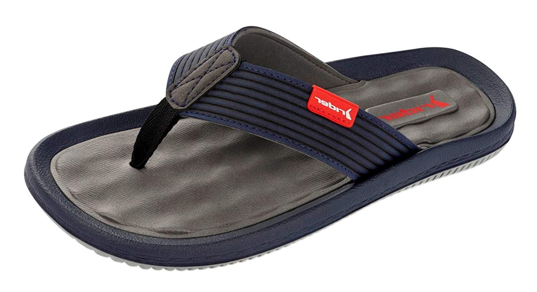 Rider Mens Sandals R1 Flip Flops-Khaki-13
