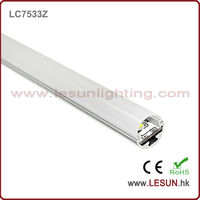 16W/M smd 5050 PC Cover led cabinet strip light LC7533Z