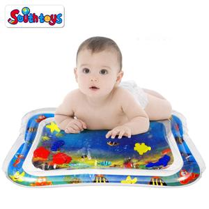 Infants & Toddlers Inflatable Baby Tummy Time Water Play Mat