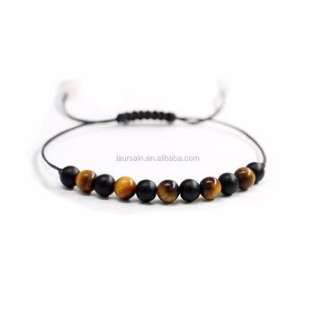 Ls D7208 Amazing Chakra Macrame Bracelet Friendship Bracelets Handmade Cord
