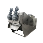 Screw Type Sludge Dewatering System for Pulp