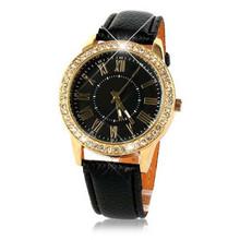 Fabulous Vogue Fashion Women Ladies Crystal Big Dial Quartz Watches Women Beauty Dress Watch Round Analog Wristwatch Reloj Mujer