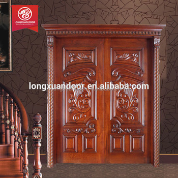 House main gate designs in wood kerala door design teak wood main door design kerala wood doors for Wooden main gate design for home