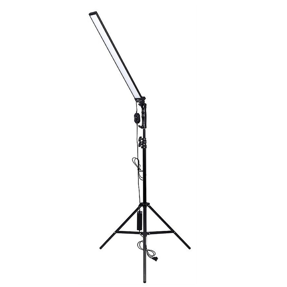 Photography Studio Continuous 30W LED Lighting Kit Adjustable Light Stand Kit With Tripod for Photography Photo Video Capture Portraits