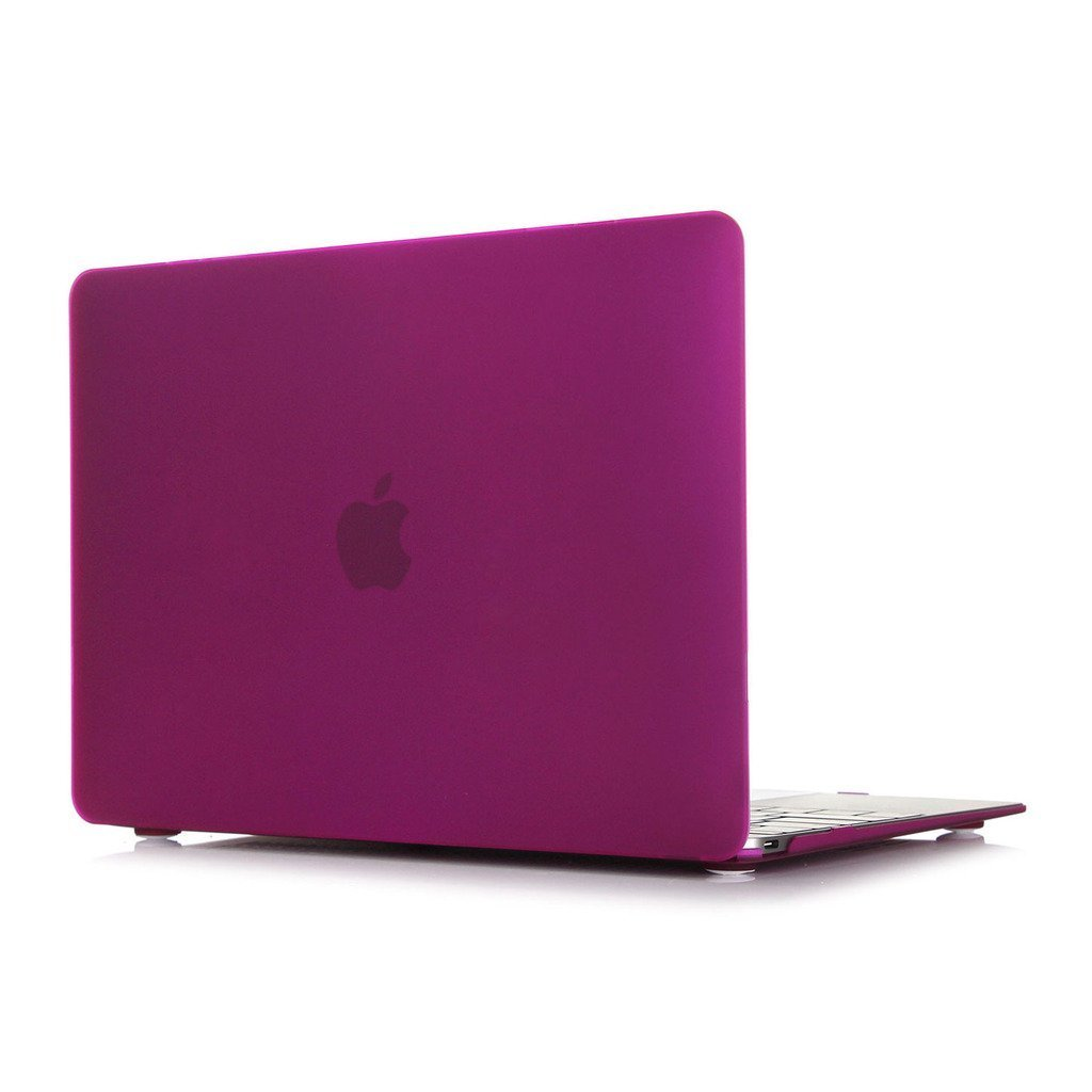 "Macbook Pro 13 with Retina Display Case, Leathlux Matte 2 in 1 Plastic Hard Case Protective Cover Slim Solid PC Shell for Apple MacBook Pro 13.3"" with Retina Display Laptops (A1425 / A1502) Magenta"