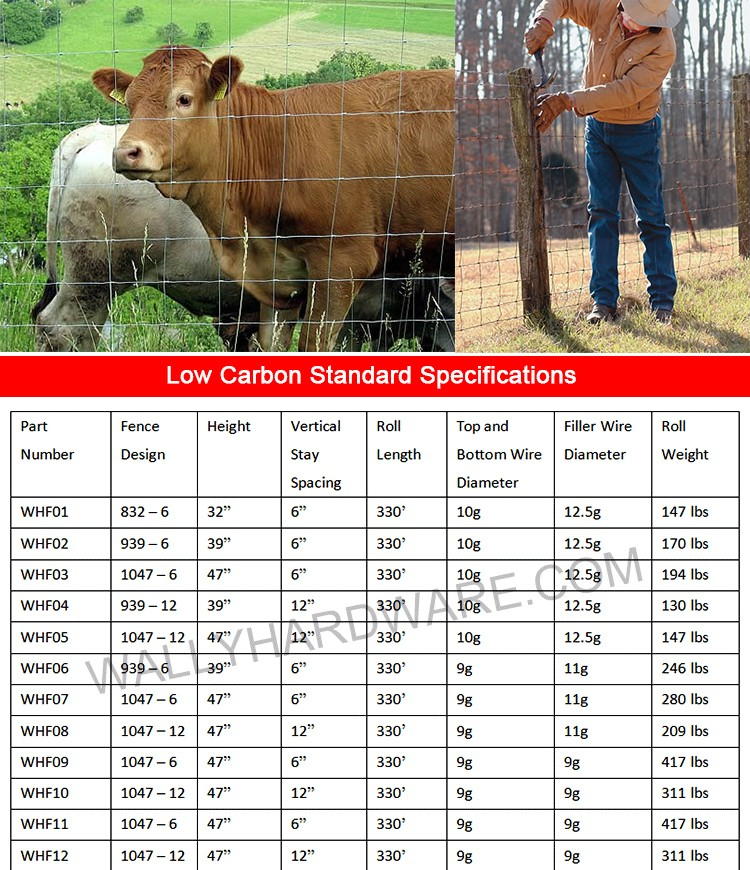 Low Price Factory Woven Wire Fence/goat Sheep Fence/cattle Field ...