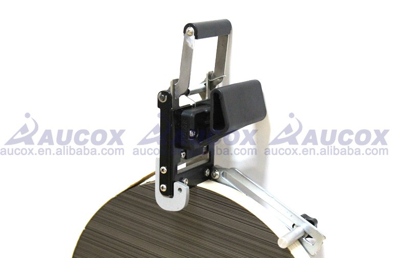 JB32S WoodWork Portable edge banding machine PVC Straight Round shape cutting device
