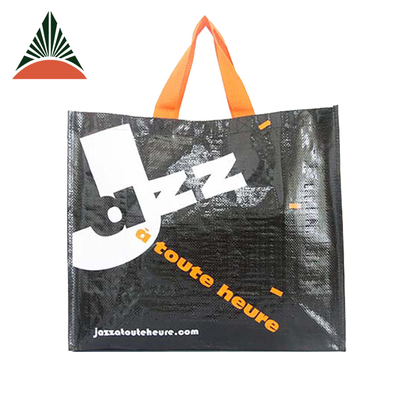 Promotional Reusable Recycled Laminated PP Non Woven Shopping Bag