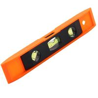High Quality 9inch Mini Torpedo Plastic Magnetic Spirit Level With Strong Magnetic