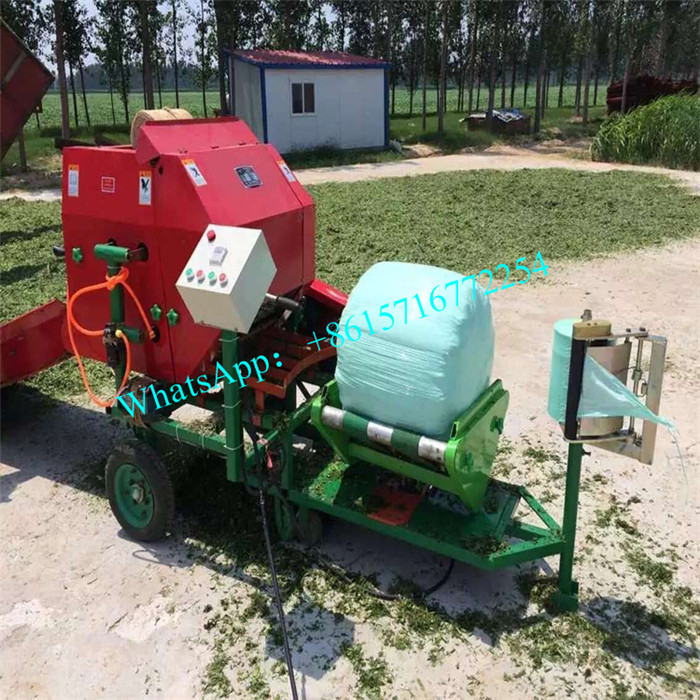 Latest Version Corn Silage Combine Balers Silage Baling Wrapping Compress Baler Machine