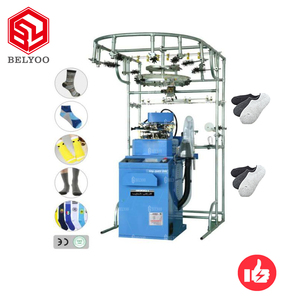 Double Cylinder socks knitter machine price small computer socks knitting machine