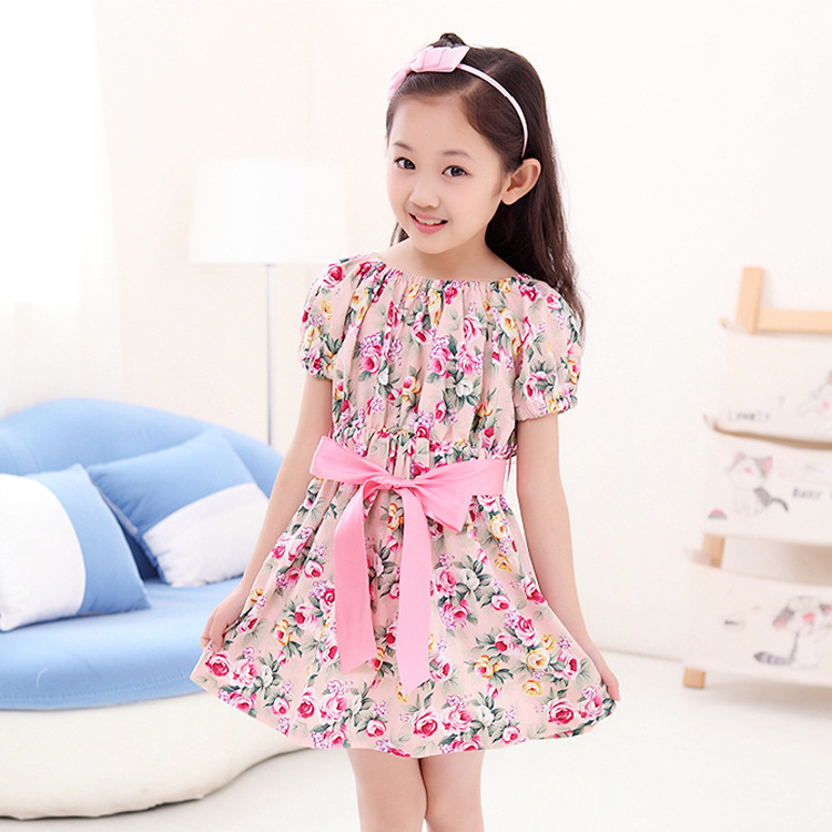 5c52fcef1 Buy Fashion Dresses Kids Summer Dress Children Clothing Girl Dresses ...