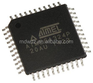 ATMEGA324P-20AU, 8bit AVR Microcontroller, 20MHz, 1 kB, 32 kB Flash, 44-Pin TQFP IC
