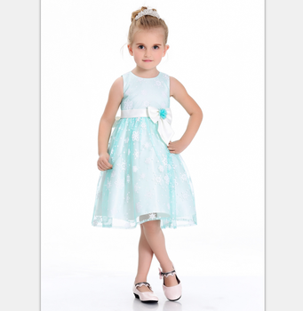 b1b7975c0 new style low price mint baby girl flower girl dress for holiday party