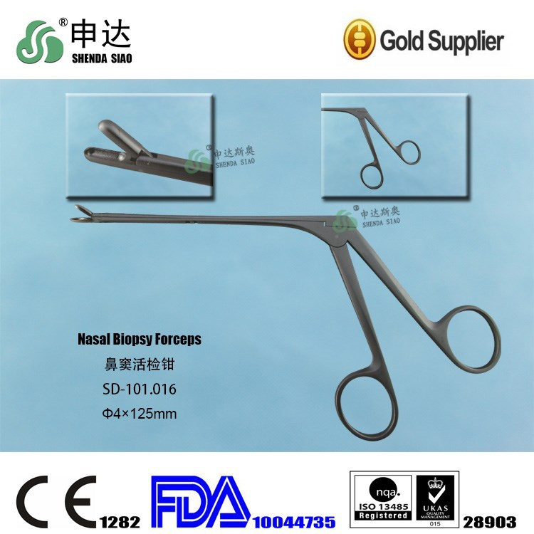 Reusable Stainless Steel Endoscope Sinus Surgery ENT Nasal Biopsy Forceps
