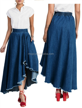 2ee1f2d61051 L1401A Newly designed fashion jean skirt women denim jean wholesale long  denim skirts