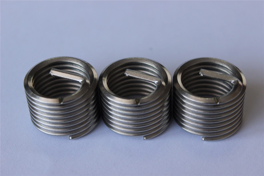 M6*1 Stainless Steel Ensat Thread Inserts For Wood Screw Hole ...