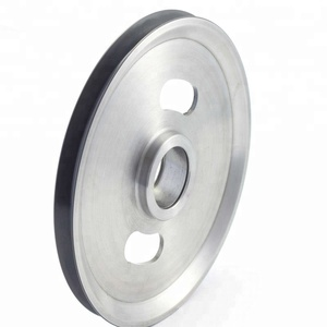 Supply metal small wire pulley wheel