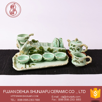 One kung fu tea set porcelain wholesale