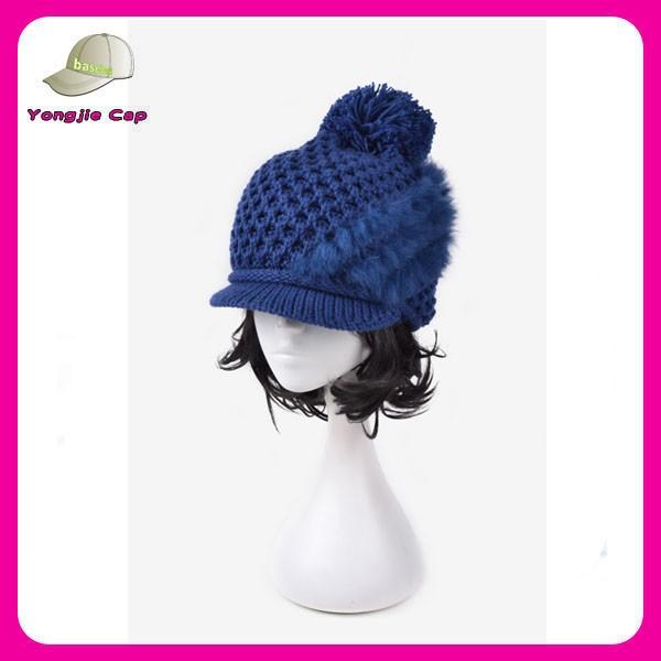 Venta al por mayor lana punto patron sombrero gorro-Compre online ...