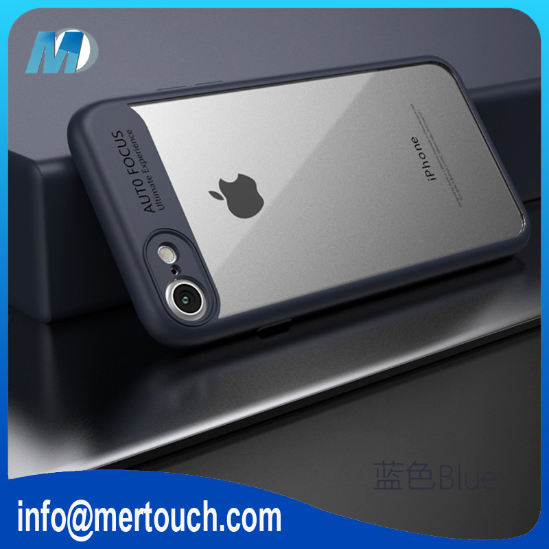 huge discount 02328 ef50c 2017 New Products Auto Focus Camera Phone Case For Iphone 7 Clear Hard Pc +  Soft Tpu Wholesale Price - Buy Case For Iphone 7,Phone Case For Iphone ...