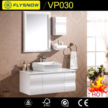 Lacquer Vanity Aluminium With High Quality Bathroom Mirror Kitchen Cabinet