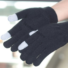 NMSAFETY Supply 2015 Imprint Logo customized touch screen gloves for smart acrylic gloves, working gloves
