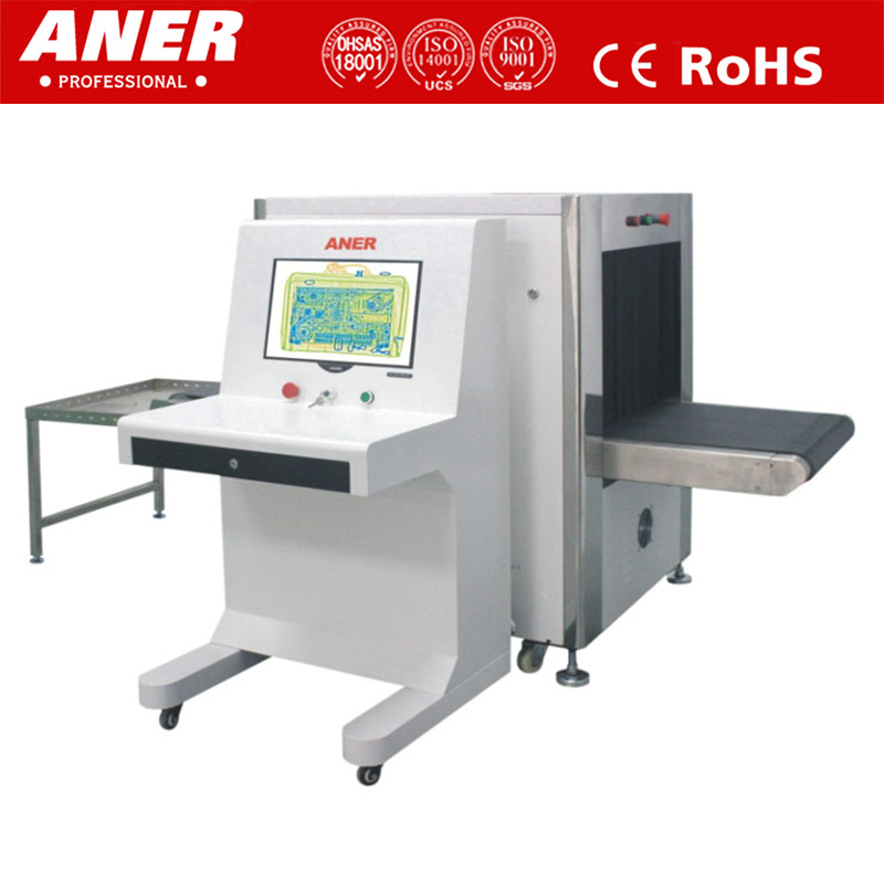Wholesale cheap price 6550 size x-ray scanner baggage inspection machine for railway security checking