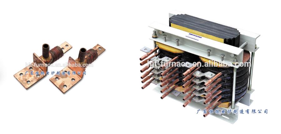 2T Logam Aluminium Melting Induksi Furnace