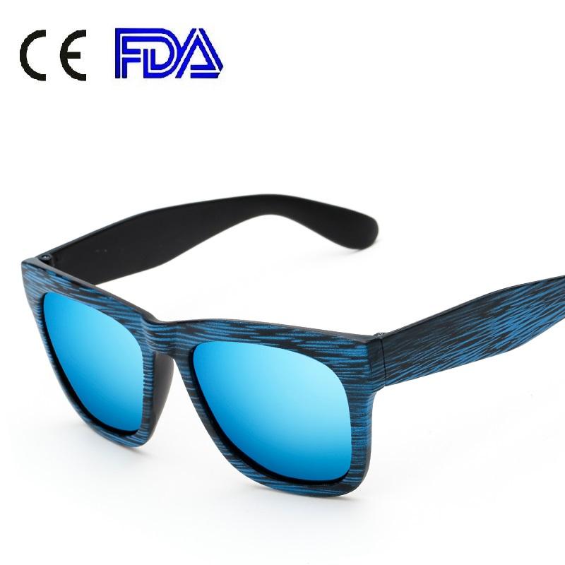 162101 Superhot PC Frame Wood Sunglasses Factory Polarized Bamboo Style Sun Glasses Female UV400 Reflection Lens Eyewear