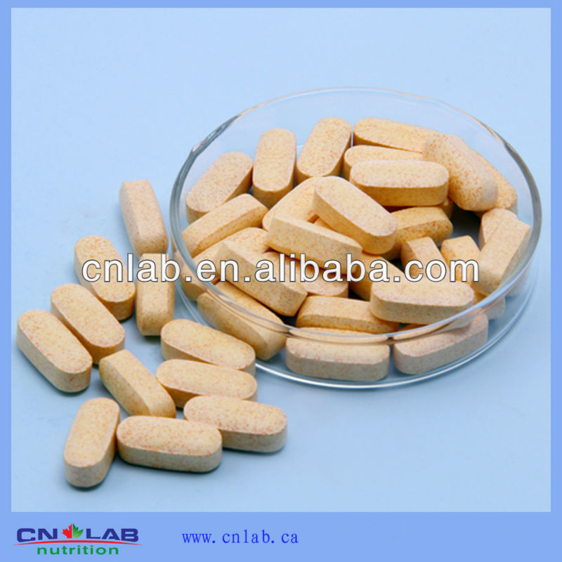 High quality Natural Vitamin C chewing tablet