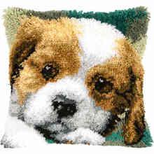 Наборы подушек ручной работы для собак, наборы подушек с крючком ручной работы с принтом животных(Китай)