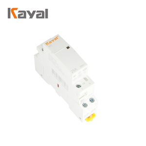 Free Samples! 1 2 3 4 Poles Home Household AC 220v Single Phase Magnetic Modular Contactor with CE ISO