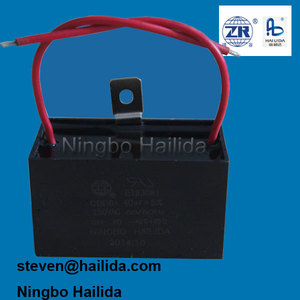 capacitor for exhaust fan motor run mpp 40uf 250v