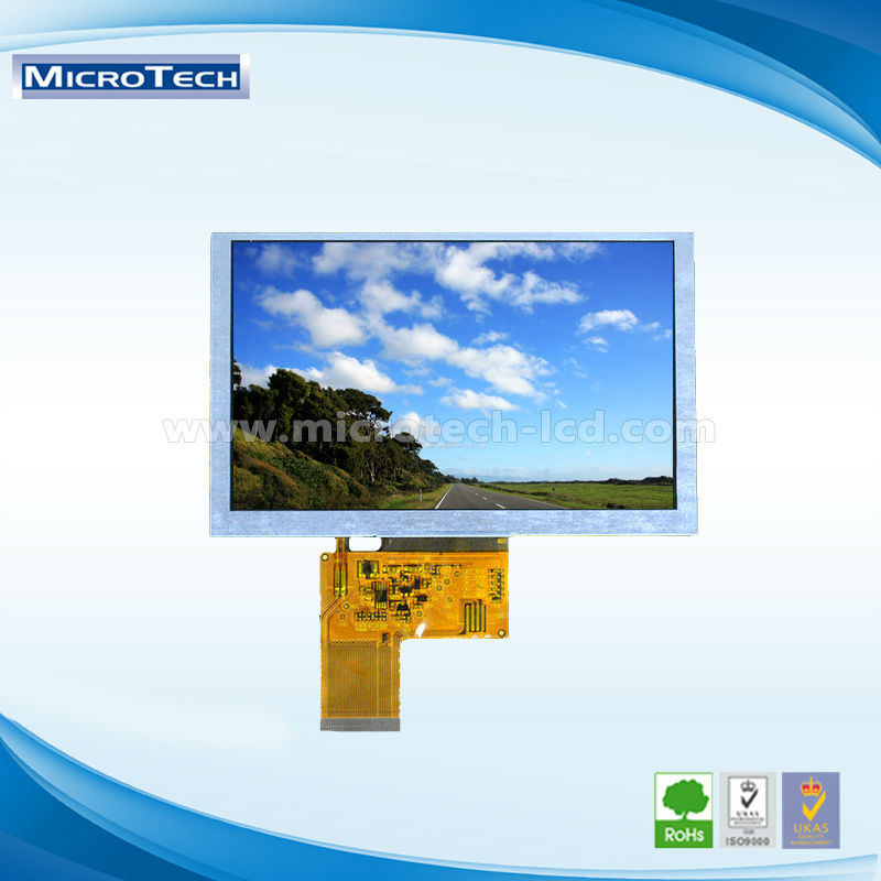 Genuine original amt 8704 5.0 inch panel display