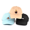 low moq custom baseball cap/adult wholesale dad cap