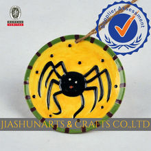 Spider Relief Ceramic Wall Hanging Decoration