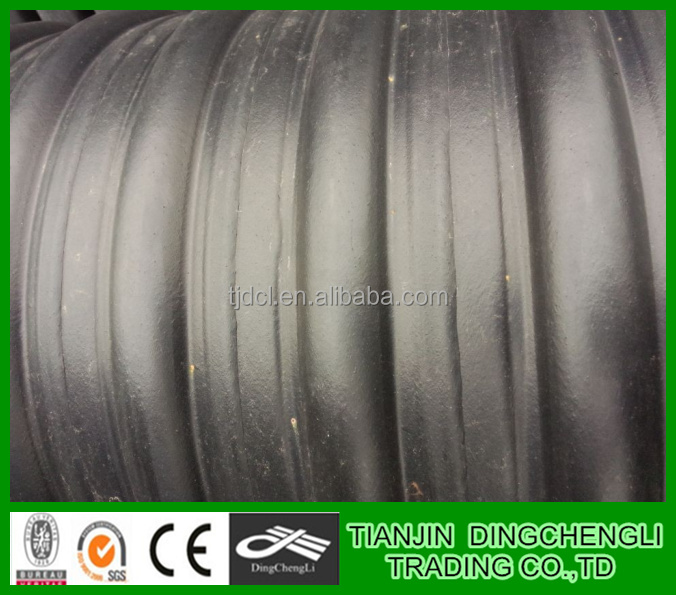 Hdpe Steel Band Reinforced Corrugated Pipe/10 Inch Drain Pipe/36 ...