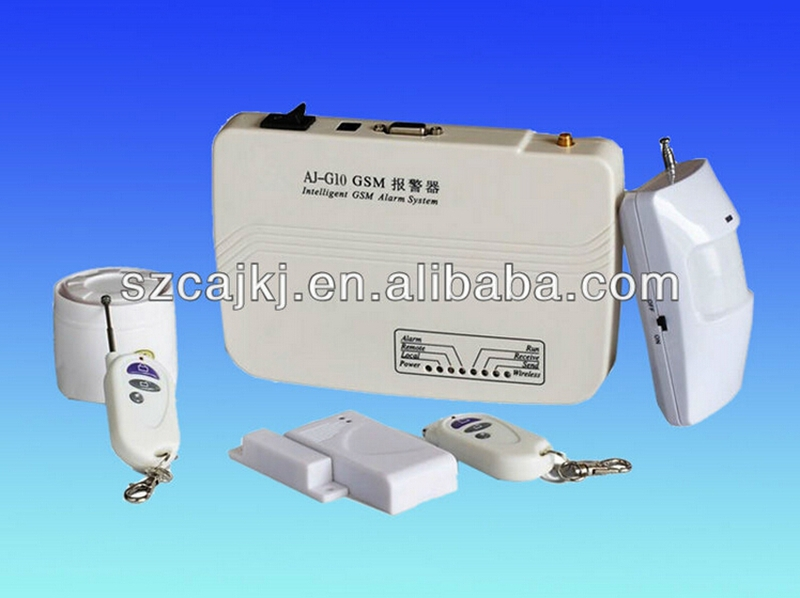 economic gsm wireless home alarm security system