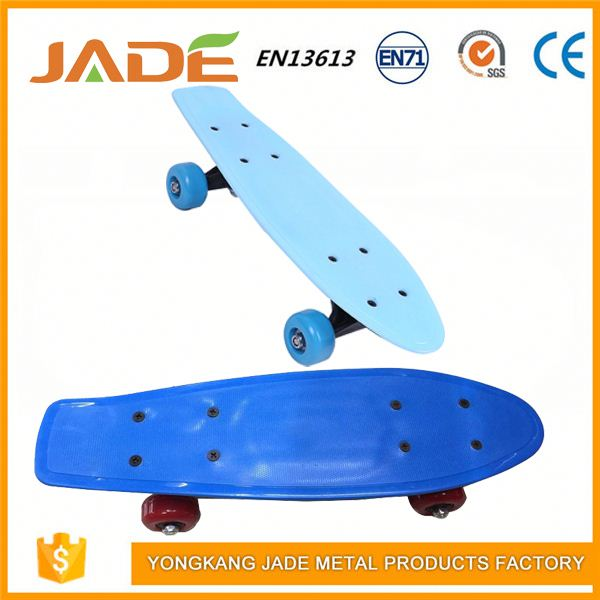 Swing board long plastic skateboard