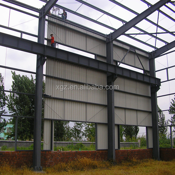 Prefabricated Steel Shed Industrial Cheap Metal Building